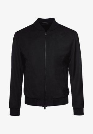 NOLWIN - Bomber Jacket - black