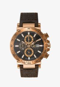 Gc Watches - Hodinky se stopkami - gold-coloured/brown - 1