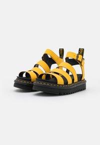 Dr. Martens - BLAIRE - Platform sandals - yellow hydro - 2