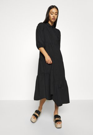 VMCHRISTINE 3/4 SLEEVE DRESS - Shirt dress - black