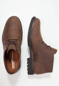 Timberland - EARTHKEEPERS STORMBUCKS - Lace-up ankle boots - burnished dark brown - 1