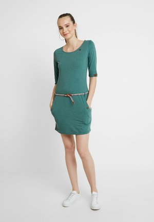 TANYA - Shift dress - green