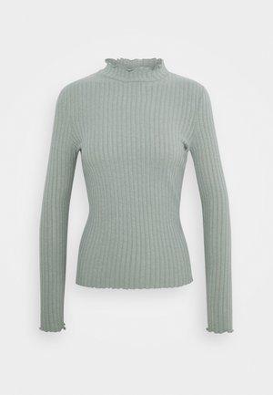 NMBERRY HIGH NECK - Jumper - slate gray