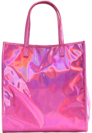 Tote bag - pink holo