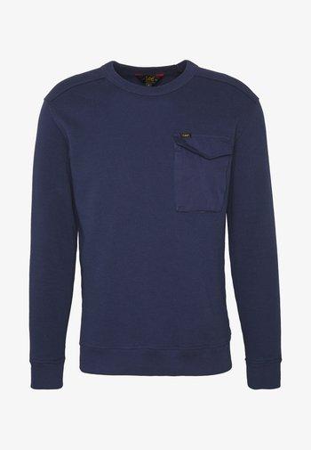 MILITARY - Stickad tröja - dark navy