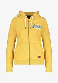 Superdry - Zip-up sweatshirt - gelb - 0