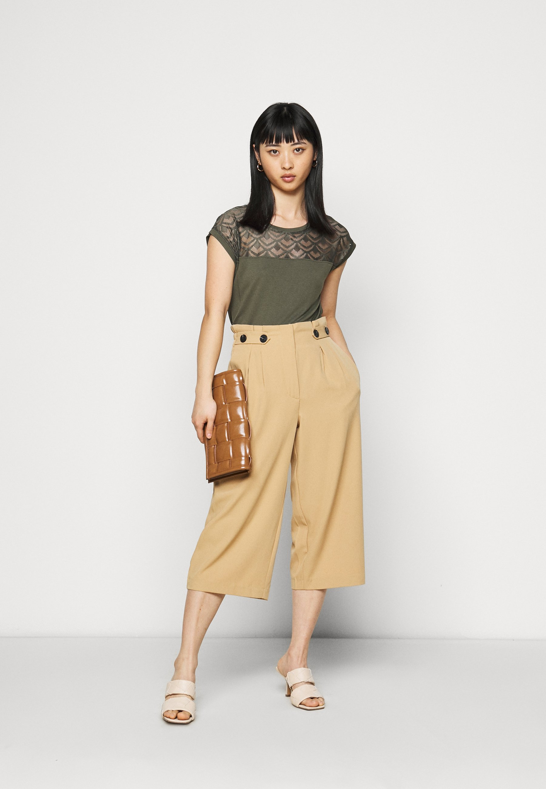 Damen ONLNICOLE MIX 2 PACK - T-Shirt print