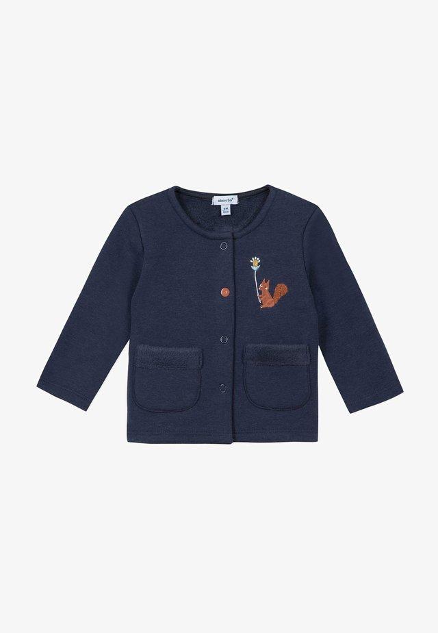 Cardigan - marine blue