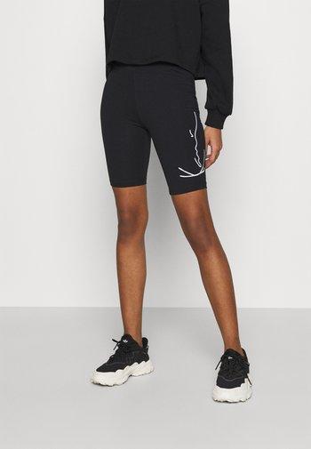 SIGNATURE CYCLING - Shorts - black