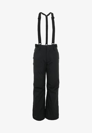 FOOTSTRAP SNOWPANTS - Skibroek - black