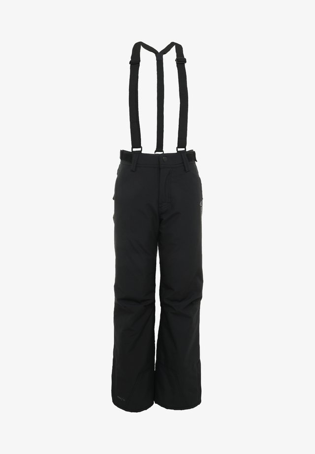 FOOTSTRAP SNOWPANTS - Talvihousut - black