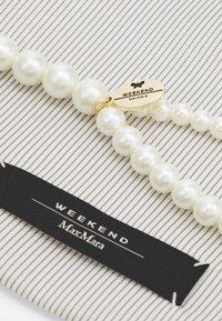 WEEKEND MaxMara - PANETTO - Necklace - bianco - 1