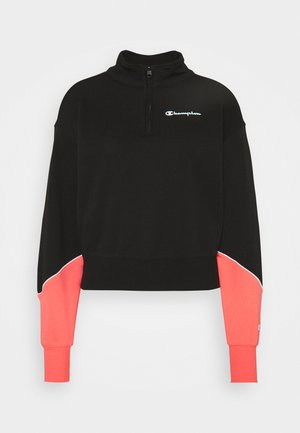HALF ZIP - Sweatshirt - black