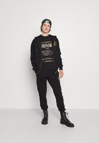 Versace Jeans Couture - Zip-up sweatshirt - nero/oro - 5