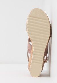 Jana - Platform sandals - rose/gold - 5