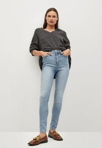 Mango - SOHO - Jeans Skinny Fit - middenblauw - 1