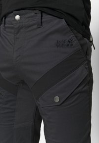 Jack Wolfskin - DOVER ROAD PANTS - Outdoorbroeken - phantom - 3