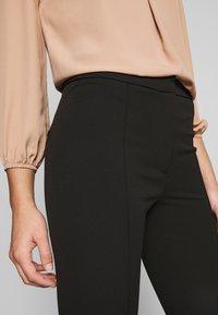 Selected Femme Petite - SLFILUE PINTUCK SLIT PANT - Bukse - black - 5