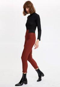 DeFacto - Leggings - Trousers - brown - 3