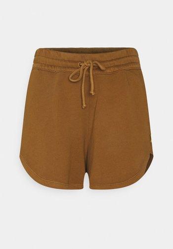 Shorts - brown ochre