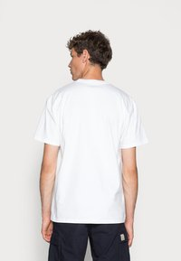 Carhartt WIP - CHASE - Basic T-shirt - white/gold - 2