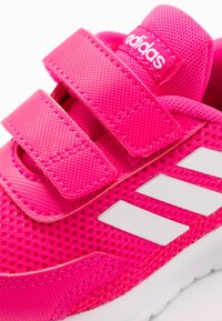 adidas Performance - TENSAUR RUN UNISEX - Zapatillas de running neutras - shock pink/footwear white/shock red - 2