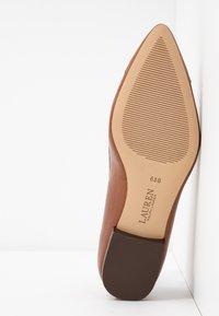 Lauren Ralph Lauren - HALENA - Ballet pumps - deep saddle tan - 6