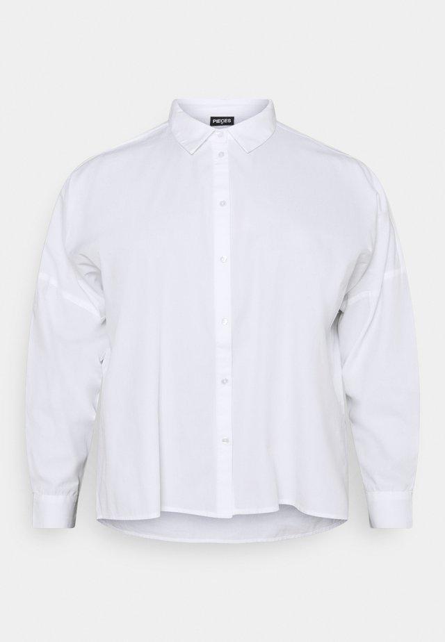 PCREMEY  - Camicia - bright white