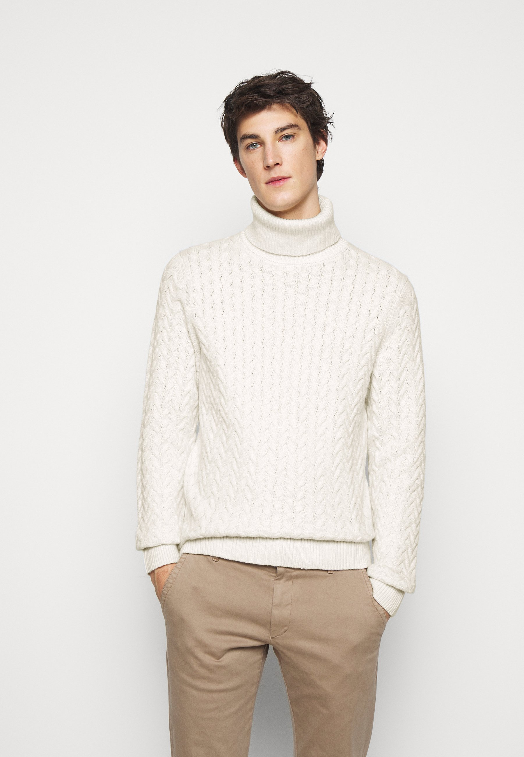 Homme CABLE TURTLE - Pullover