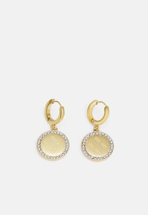 ROUND HARMONY - Earrings - yellow gold-coloured