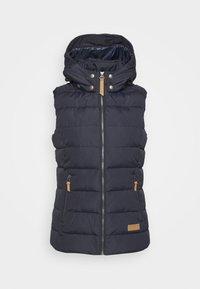 Icepeak - ALEXANDRIA - Waistcoat - dark blue - 6