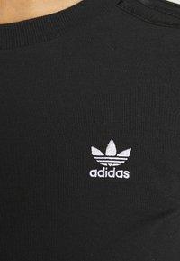 adidas Originals - CROP - Long sleeved top - black - 5