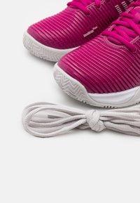 K-SWISS - HYPERCOURT SUPREME HB - Clay court tennis shoes - cactus flower/nimbus cloud/white - 5