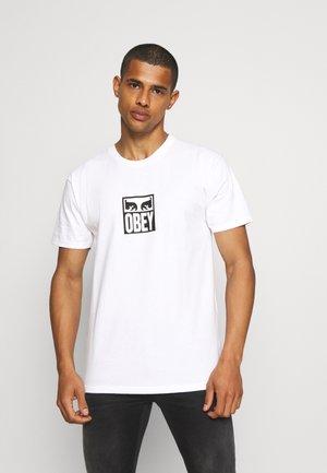 EYES ICON - Printtipaita - white