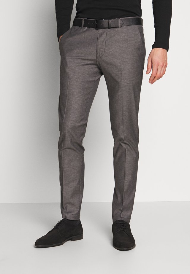 CIBRAVO TROUSERS - Trousers - anthracite