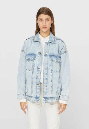 OVERSIZE - Veste en jean - light blue