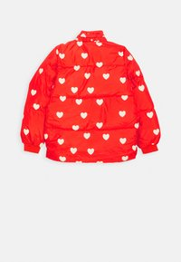 Mini Rodini - HEARTS PICO- PUFFER - Winterjacke - red - 2