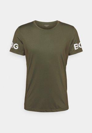 TEE - T-shirts print - ivy green
