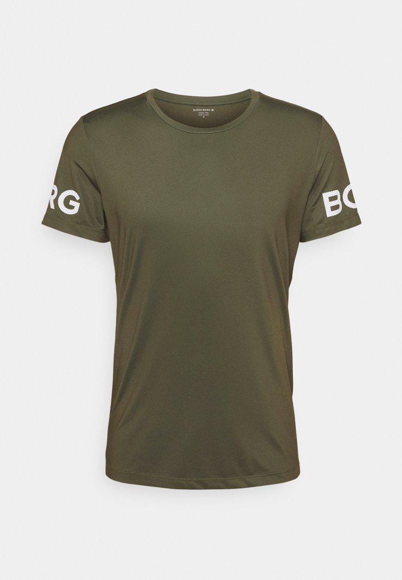 Björn Borg - TEE - Print T-shirt - ivy green