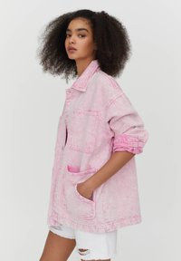 PULL&BEAR - Denim jacket - rose - 3