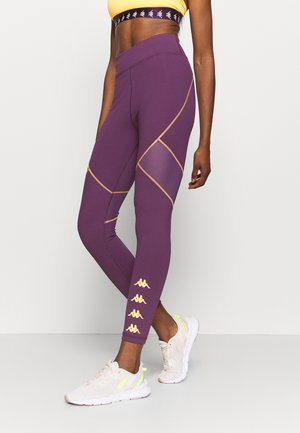 HALIMA - Leggings - hortensia