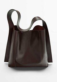 Massimo Dutti - Handbag - bordeaux - 1