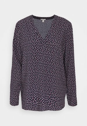 PRINT BLOUSE - Camicetta - navy