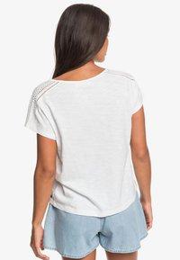 Roxy - STARRY DREAM - Basic T-shirt - snow white - 2