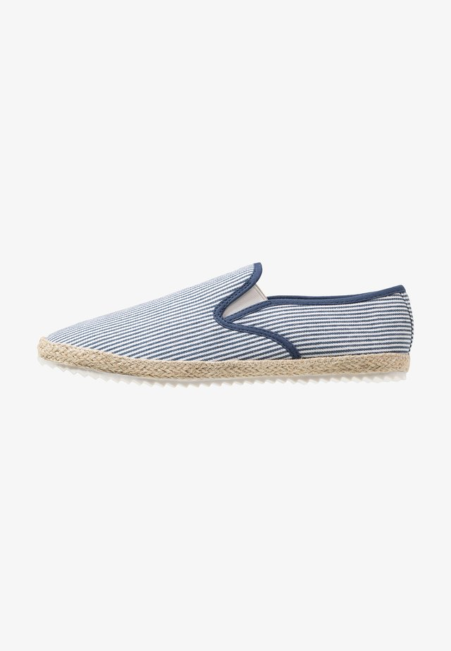 HALT STRIPE - Espadrilles - navy