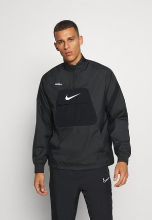 FC ANORAK - Veste de survêtement - black/white