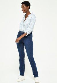 LolaLiza - Straight leg jeans - dark blue - 4