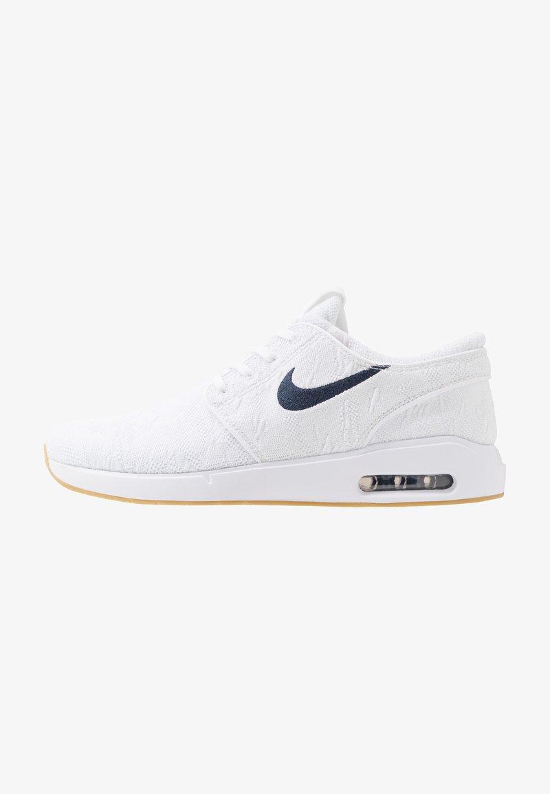 Nike SB - JANOSKI MAX - Sneakers - white/obsidian/celestial gold/light brown