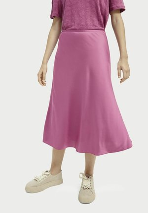 A-line skirt - orchid