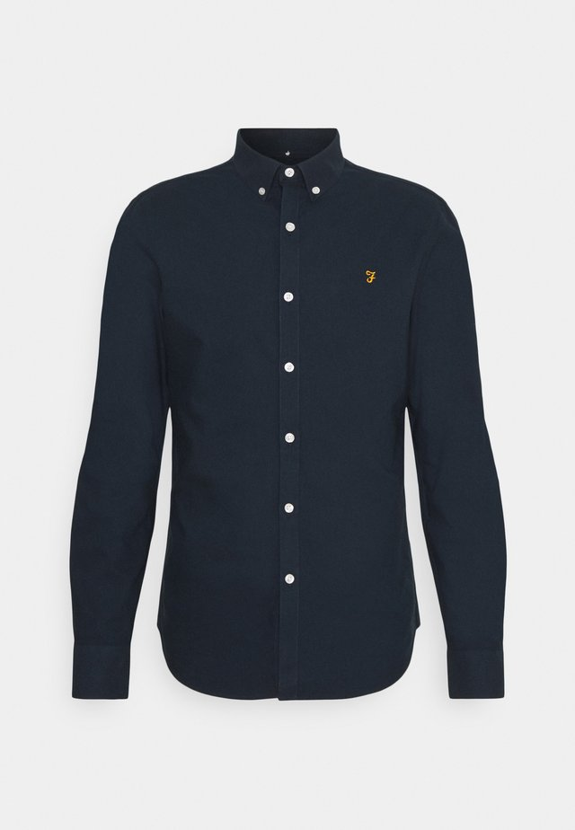 BREWER - Shirt - navy